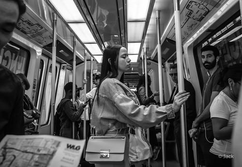 Miami mood - métro portrait