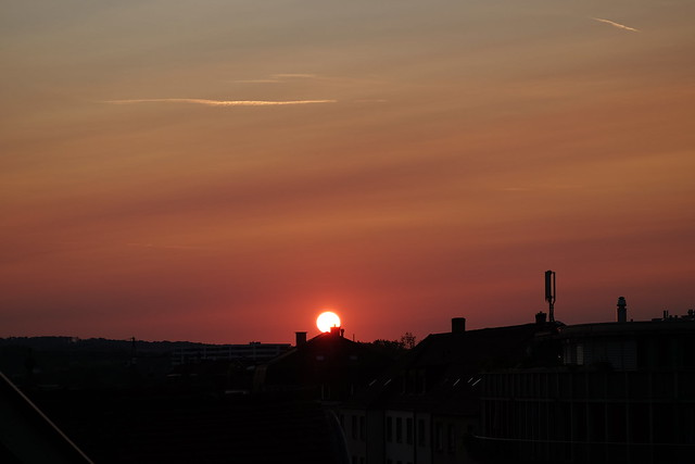 Today's Sunset, Basel/Switzerland