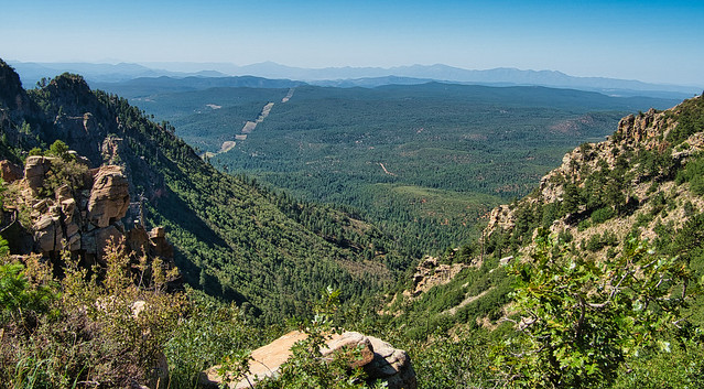 Camping up on the MogollonRim... with it's beautiful views