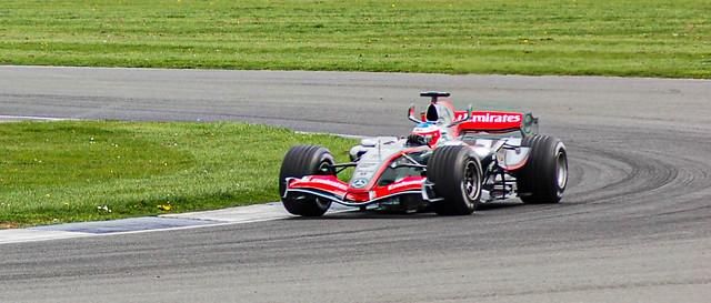 Kimi Räikkönen in the McLaren MP4-21