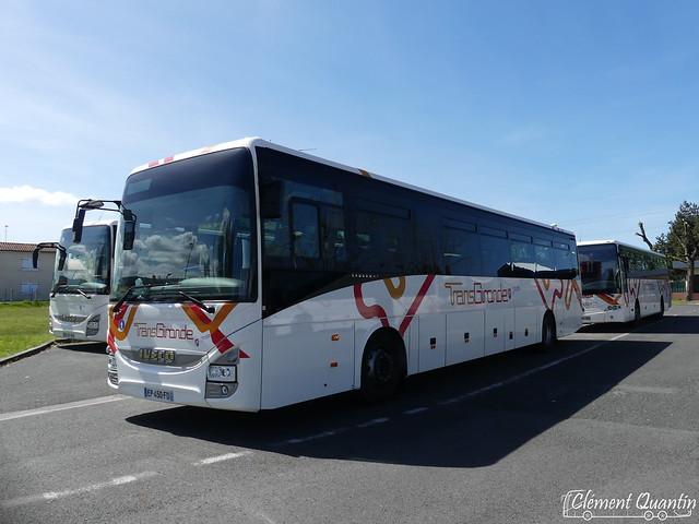 IVECO Crossway Pop - 4464 & MERCEDES-BENZ Intouro E - 9111 / CFTI David