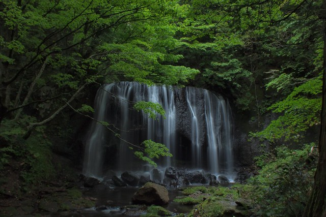 Tatsuzawa Fudo Falls (1)