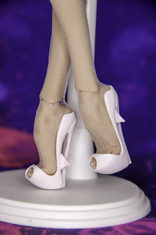 Popovy dolls shoes painting