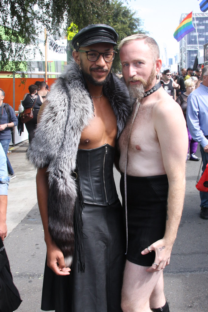 DOUBLE WILD FUN ! ~ FOLSOM STREET FAIR 2019 ! ( safe photo )