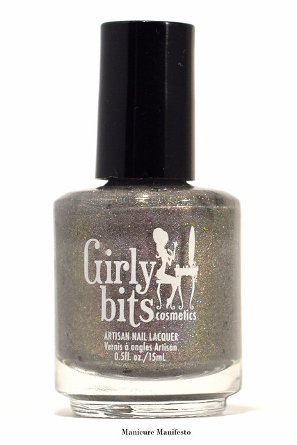 Girly Bits Cosmetics Steely Resolution Review