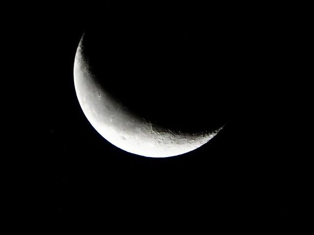 DSC00697 Heute Morgen Mond