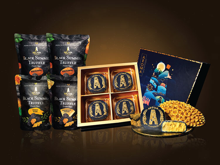 Aroma Truffle products in Singapore
