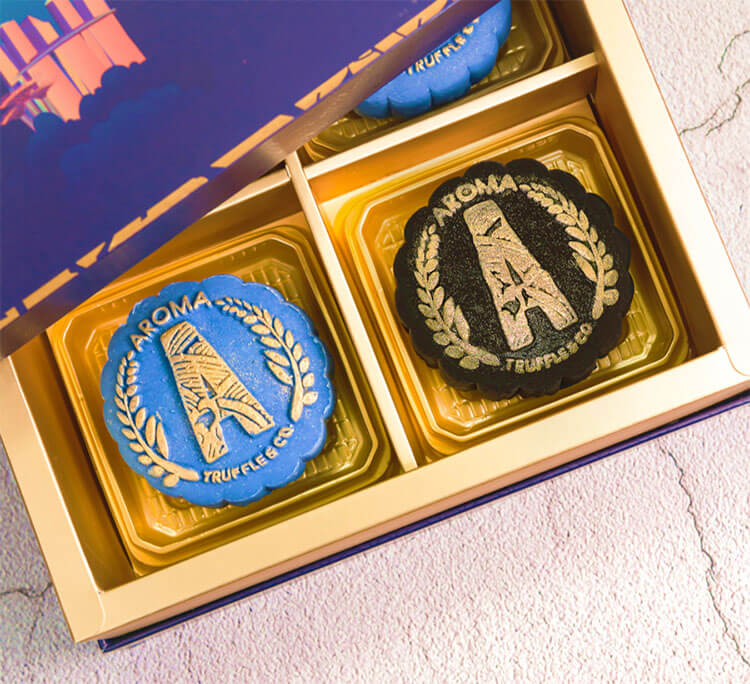 exquisite mooncakes from Aroma Truffle