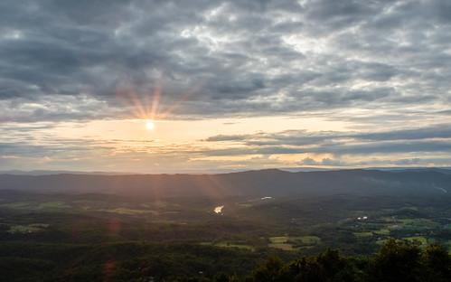 horizon sun x100f shenandoah sunset virginia overlook nature nubes fuji sky hdr rural va fujifilm clouds frontroyal unitedstates outside
