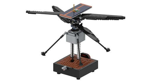 Mars Helicopter Ingenuity 10   Free step-by-step ...