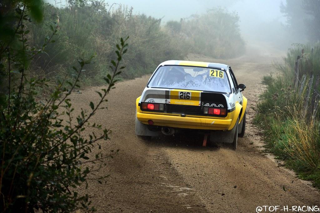 Rallye Terre de Lozère 2020 - Opel Ascona B - Van Rompuy