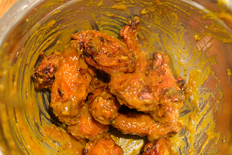 Mango-Habanero Wings