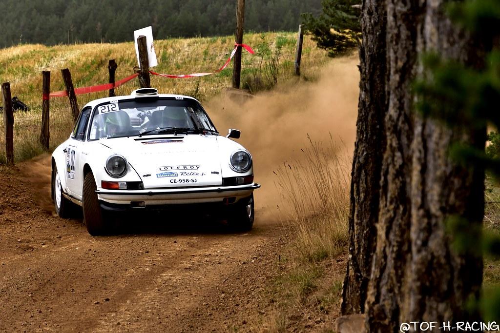 Rallye Terre de Lozère 2020 - Porsche 911 S - Comtet