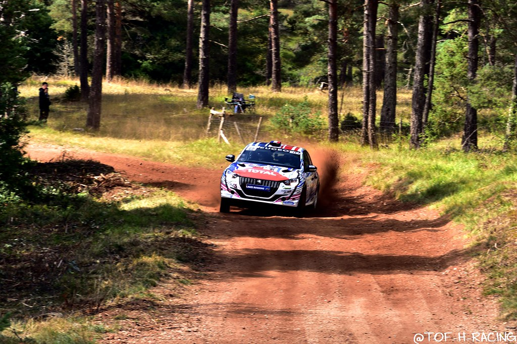 Rallye Terre de Lozère 2020 - Peugeot 208 Rally4 - Franceschi