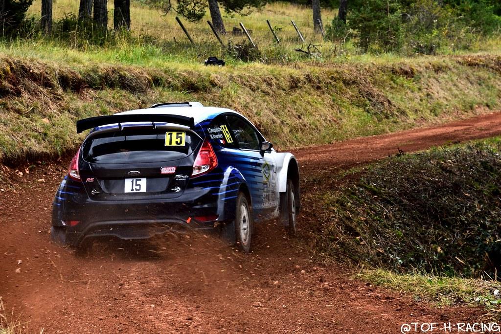 Rallye Terre de Lozère 2020 - Ford Fiesta R5 - Alvernhes