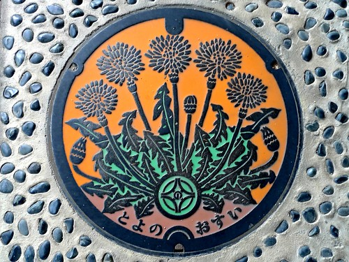 Toyono Osaka, manhole cover (大阪府豊能町のマンホール)