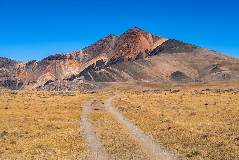 Leaving White Mountain Peak
