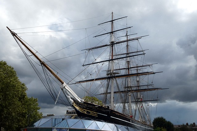Grey Skies Over The Cutty Sark (Explored)