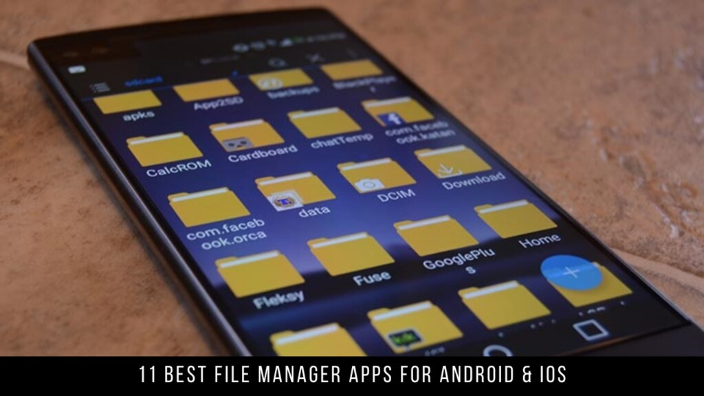 11 Best File Manager Apps For Android & iOS
