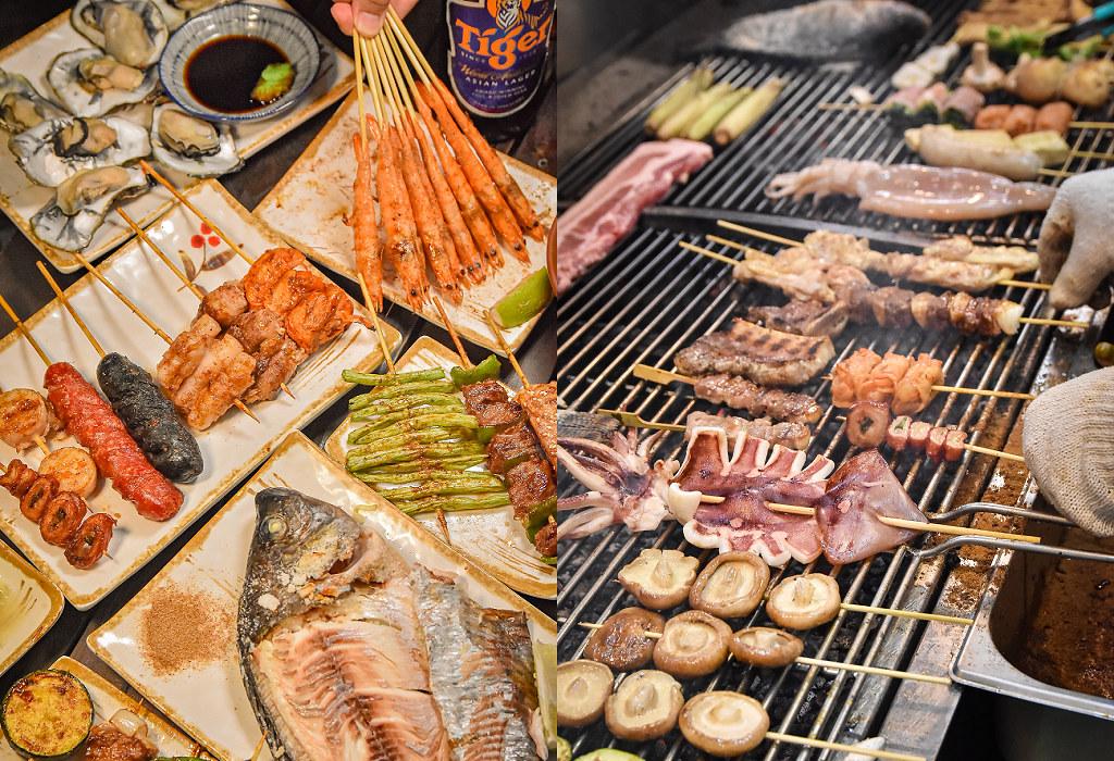 台中燒烤啤酒 神串串燒 精誠 價位菜單