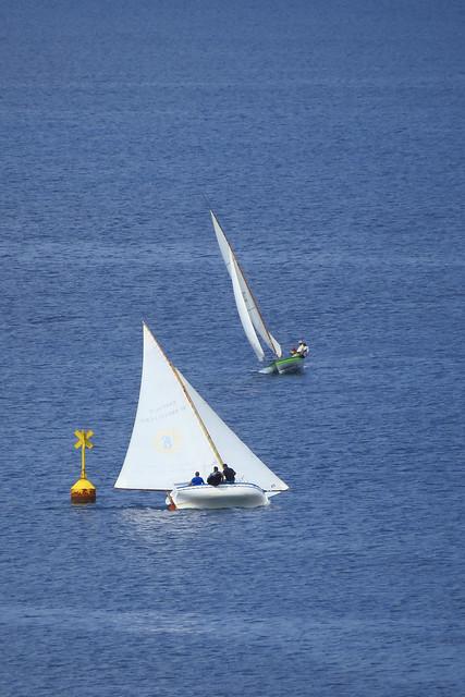 Gara velica a Pantelleria - Sailing race in Pantelleria