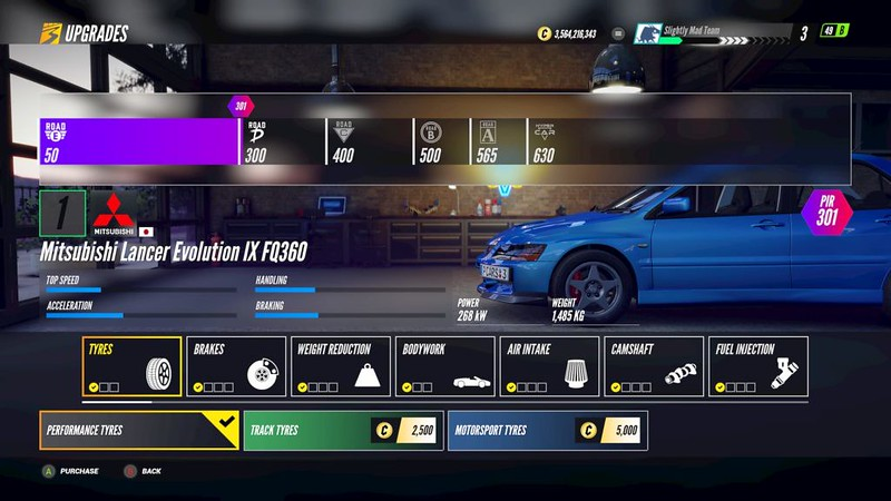 Project-CARS-3 Tyre Upgrades