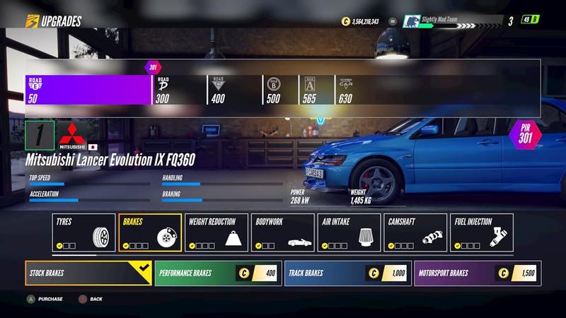 Project-CARS-3 Brake Upgrades