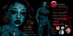 """""""Lupus Femina"""" Demon Queen - Teal"""