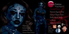 """""""Lupus Femina"""" Demon Queen - Blue"""