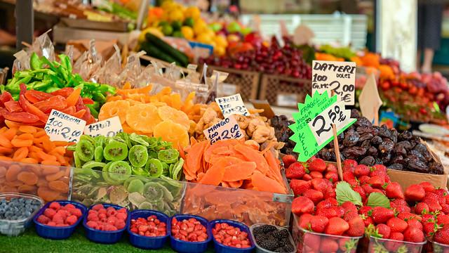 Venezia: Rialto market