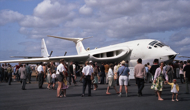 1964 - RAF Handley Page Victor at the Ohakea Airshow, NZ