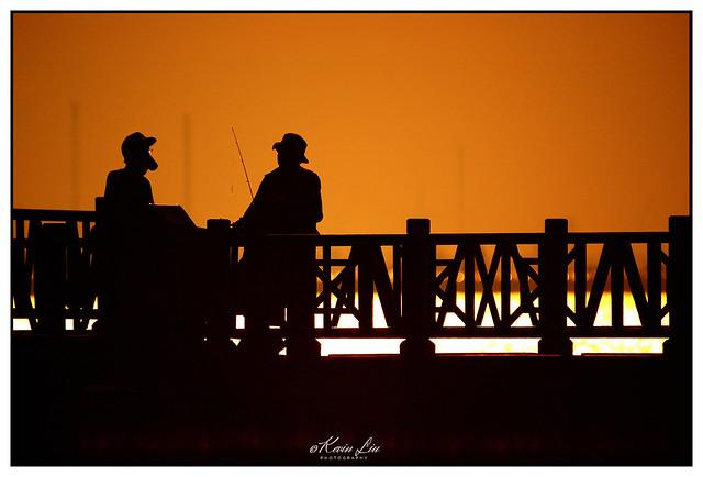 Anglers Chatting Away