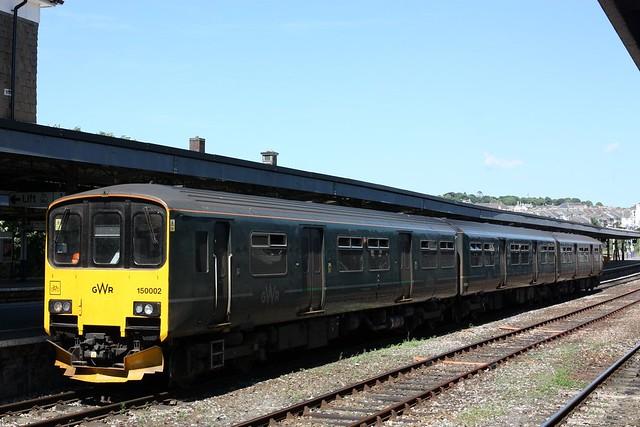 Three car set at Plymouth
