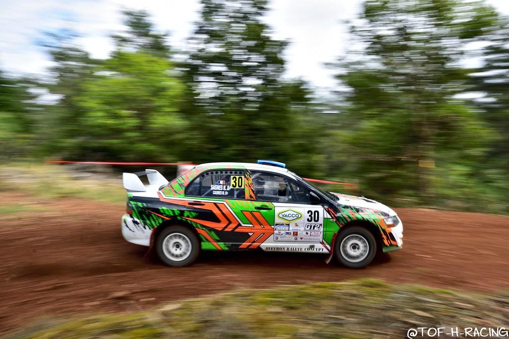 Rallye Terre de Lozère 2020 - Mitsubishi Lancer Evo 9 - Caumes