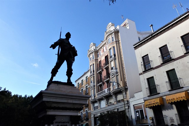 Madrid - Monumento a Cascorro.
