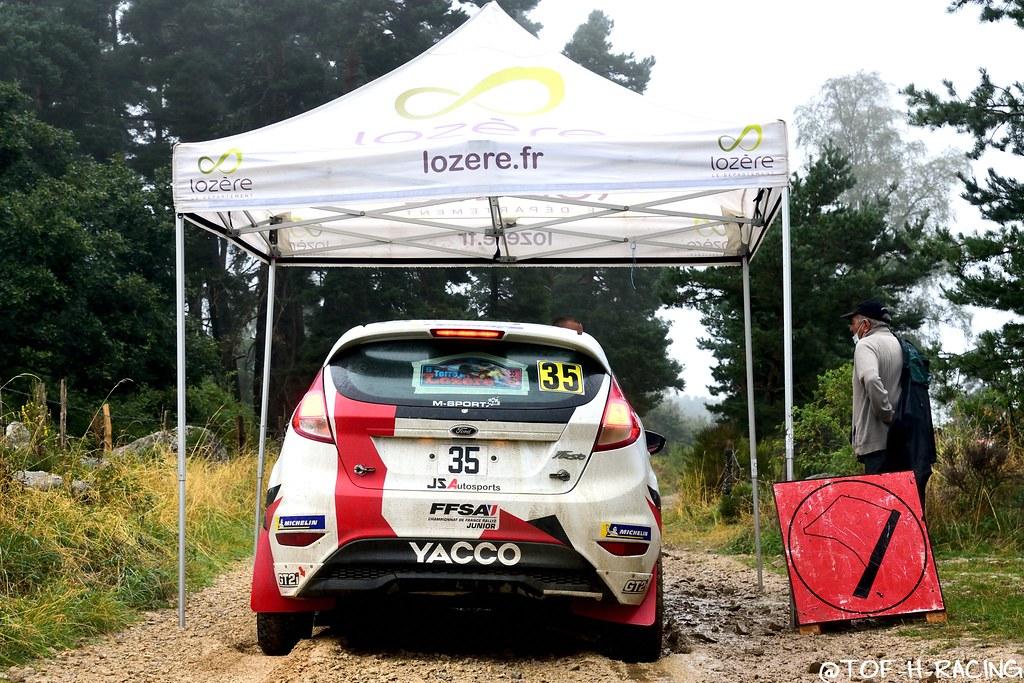 Rallye Terre de Lozère 2020 - Ford Fiesta R2 - Rossel