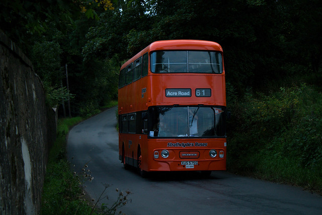 Preserved Strarthclyde's Buses XUS 575S LA1204