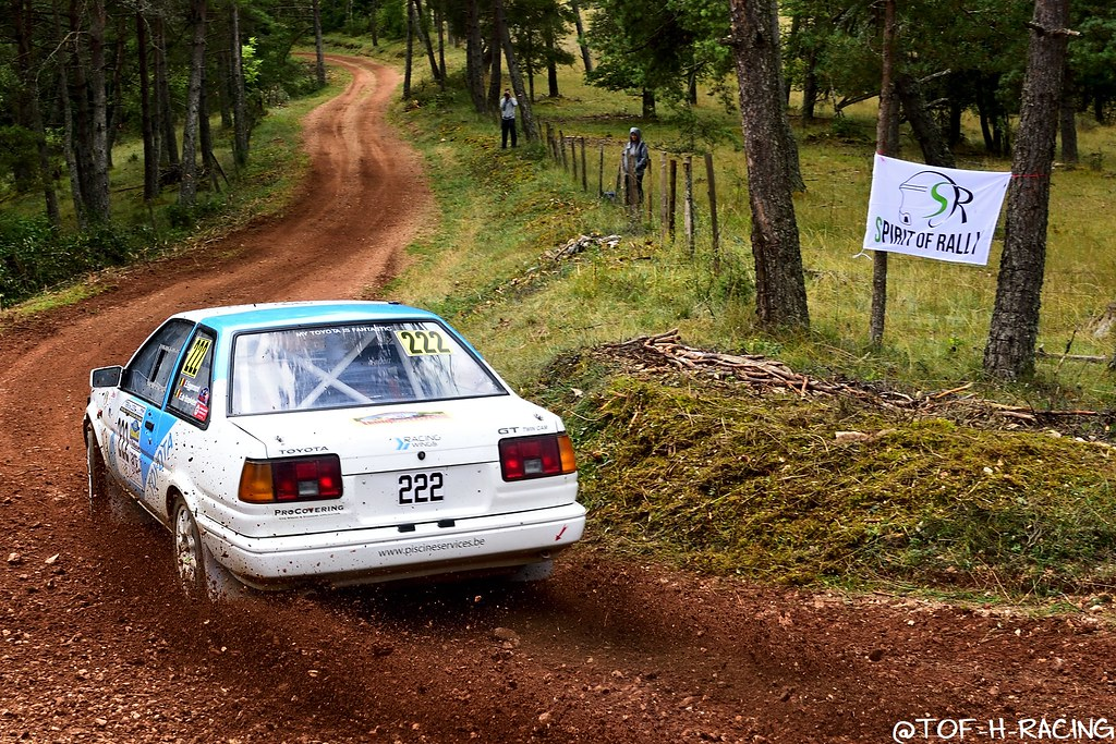 Rallye Terre de Lozère 2020 - Toyota Corolla - Eggermont