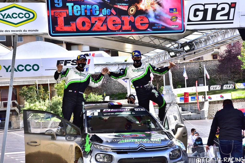 Rallye Terre de Lozère 2020 - Citroën C3 R5 - Franceschi