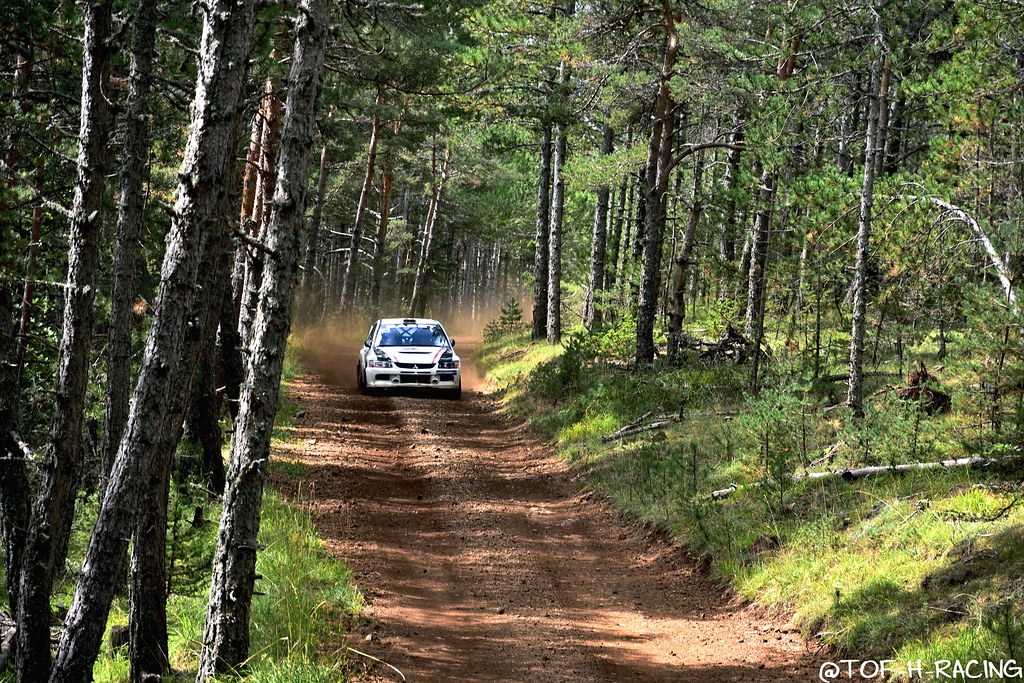 Rallye Terre de Lozère 2020 - Mitsubishi Lancer Evo 9 - Falco