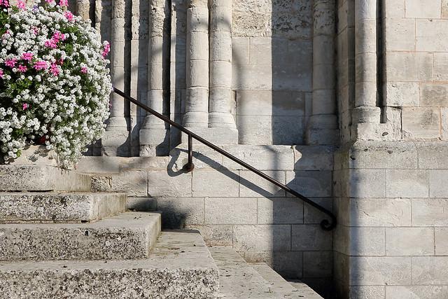 Marches de l'abbaye Saint-Georges de Boscherville