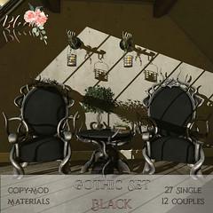 Bloom! - Gothic set BlackAD