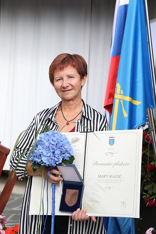 Podelitev občinskih nagrad in plaket ob 68. prazniku Občine Domžale