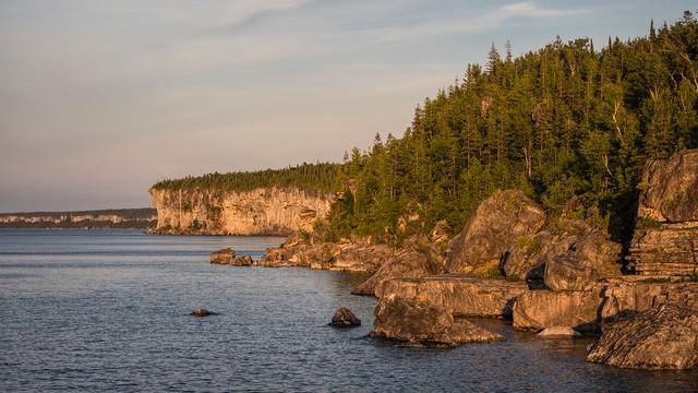 Georgian Bay shoreline, Bruce Peninsula