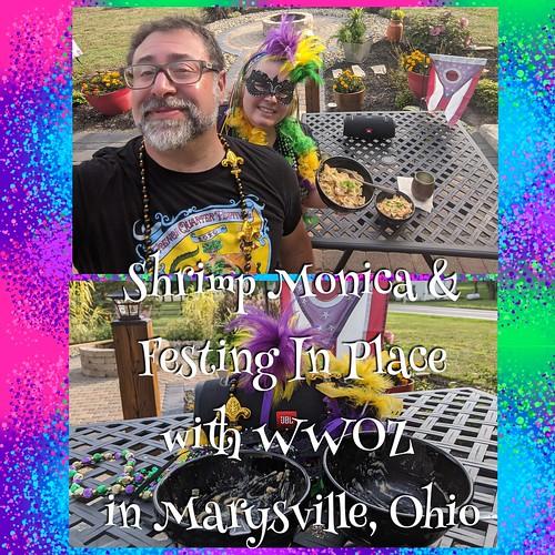 Jim & Christina festing in Marysville, Ohio