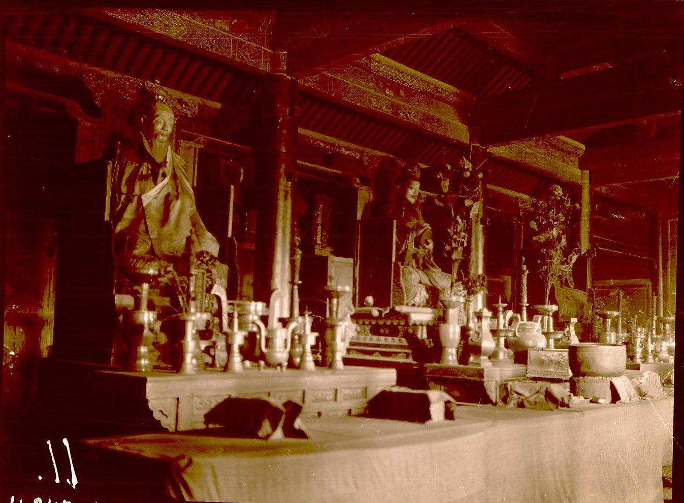 Интерьер даосского храма