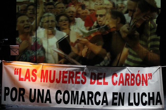 CARBÓN. NEGRO. ÁLVARO CABOALLES EN EL TEATRO EL ALBÉITAR - UNIVERSIDAD DE LEÓN 12.09.20