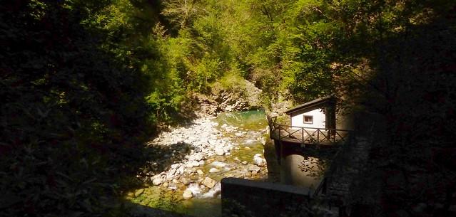 Cañón de Añisclo (Huesca, Sobrarbre, Sp) – El río Bellós