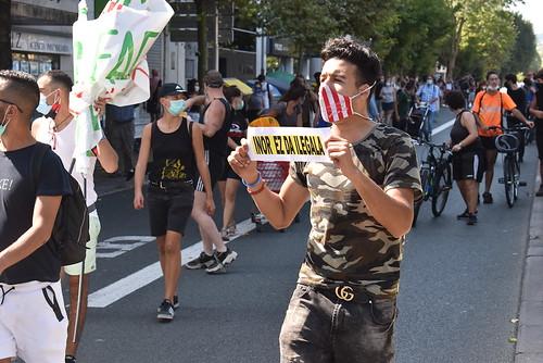 Infernuaren aldeko manifestazioa