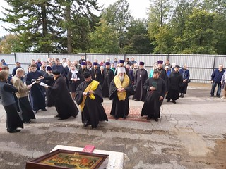 13.09.2020 | Установка купола в Боровичах
